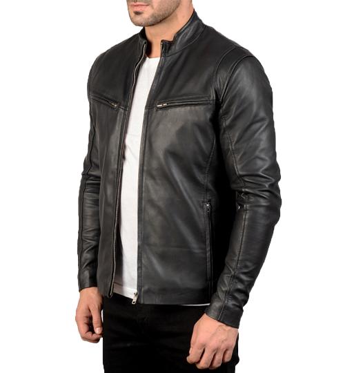 Ionic Black Leather Jacket_02
