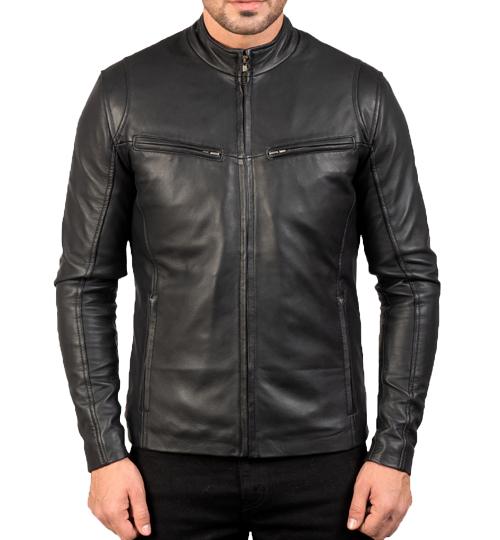 Ionic Black Leather Jacket_03
