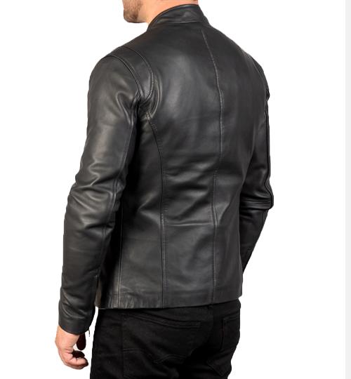 Ionic Black Leather Jacket_04