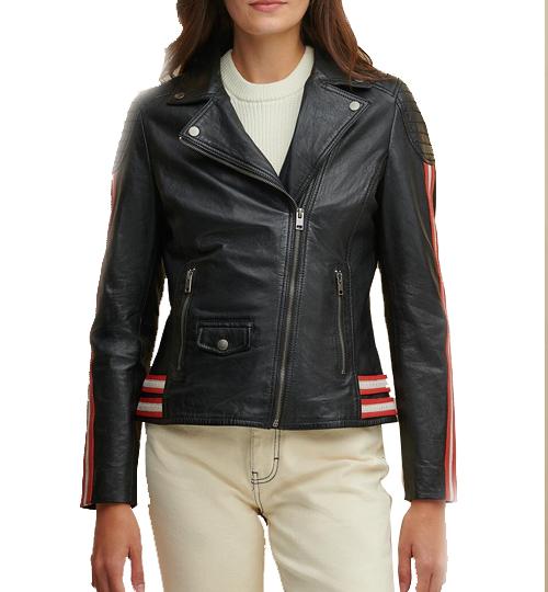 Grace Asymmetrical Striped Jacket_02