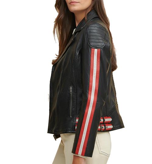 Grace Asymmetrical Striped Jacket_04