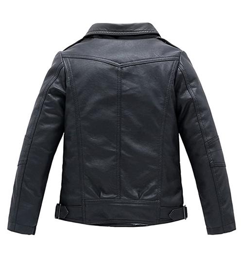 Leather Collar Coat Jacket_02