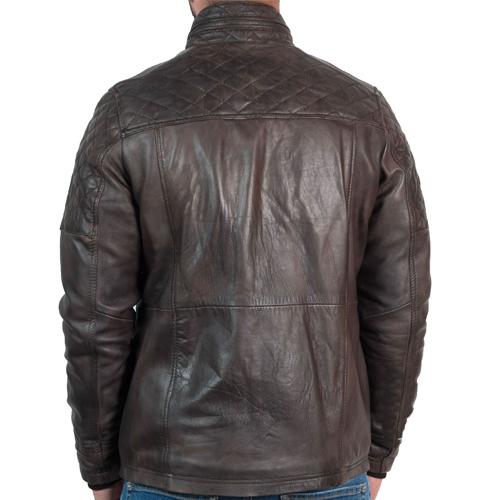 Mens Vintage Racing Leather Jacket_02