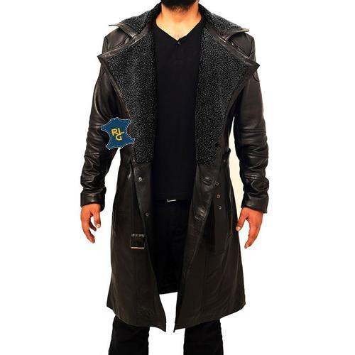 Blade Runner 2049 Ryan Gosling leather Coat_02