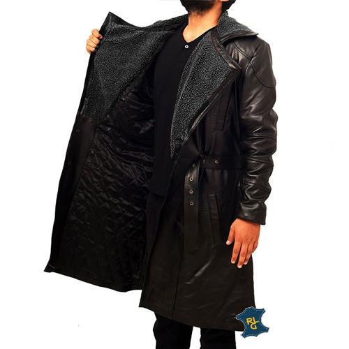 Blade Runner 2049 Ryan Gosling leather Coat_03