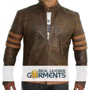 Inspired X-Men Wolverine Bomber Leather Jacket
