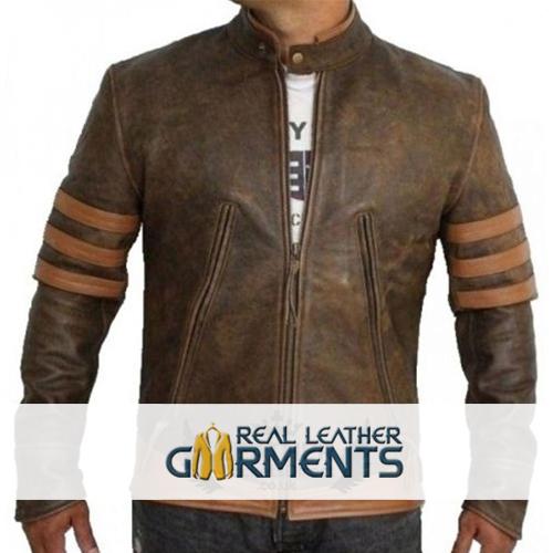 Inspired X-Men Wolverine Bomber Leather Jacket