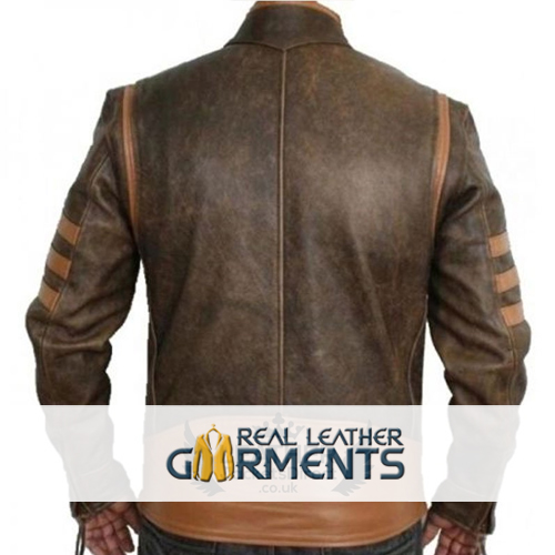 Inspired X-Men Wolverine Bomber Leather Jacket_02
