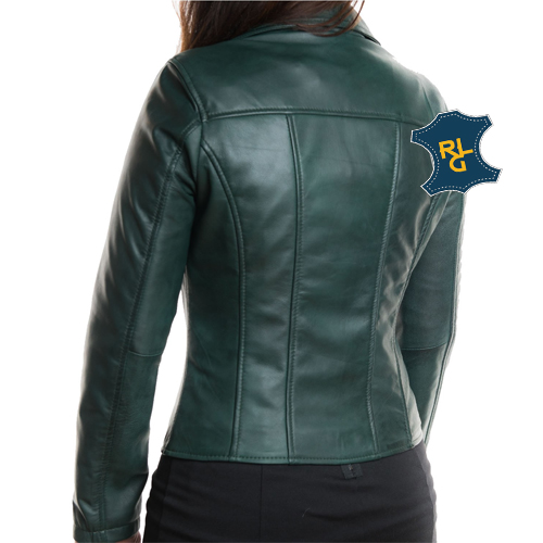Womens Green Leather Jacket_03