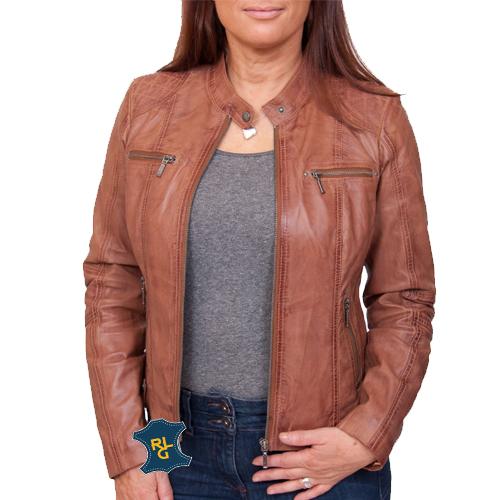 Womens Leather Biker Jacket_02