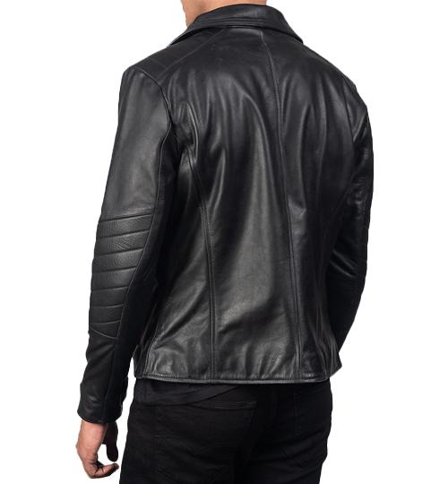 Raiden Black Leather Biker Jacket_03